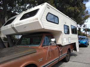 Camper and truck 1970 Chevy for Sale in Los Angeles, CA