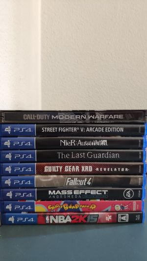 Ps4 games. Make an offer for Sale in Lake Elsinore, CA