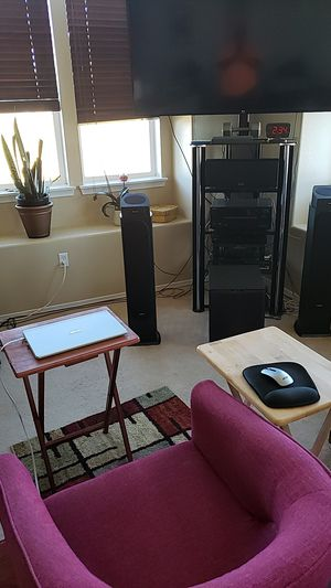 ONKYO HT-695 4K 5.1 RECEIVER /PIONEER/ POLK AUDIO 5.1 HOME THEATER SYSTEM for Sale in Englewood, CO