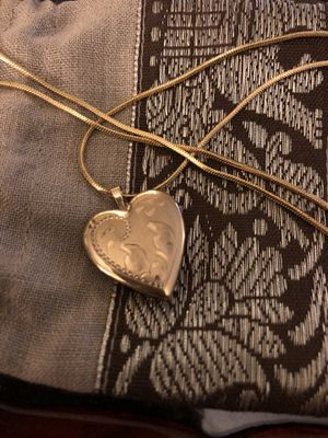 Vintage 14k Gold Locket with 18k gp Chain. Christmas Gift? for Sale in Portland, OR