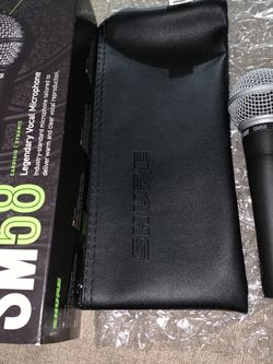 Shure 🎤 Microphone Sm58 Firm Price for Sale in Covina,  CA