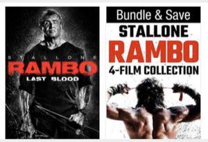 Rambo Last Blood Bundle - Digital Copy Code - VUDU HDX Movies for Sale in Jurupa Valley, CA