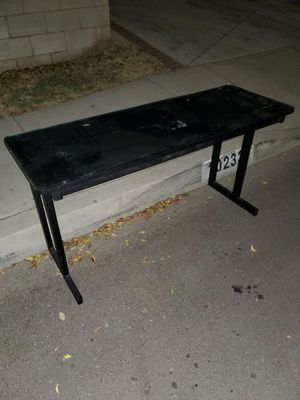 GLASS top desk FREE for Sale in Montclair, CA