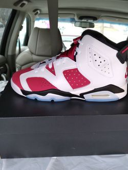 Jordan 6 Carmine Size 5, 6.5, and 7 for Sale in Arlington,  VA
