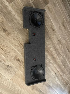 "Kenwood Excelon 10"" subs and Box for Sale in Tempe, AZ"