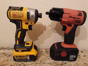 Dewalt & snap on for Sale in Fort Worth, TX