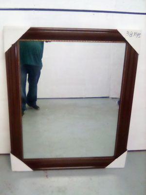 Sale mirror color espresso hanging 45x38 for Sale in Los Angeles, CA