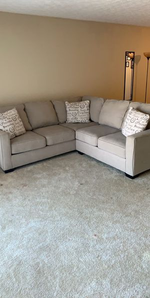2pc Sectional Couch for Sale in Atlanta, GA