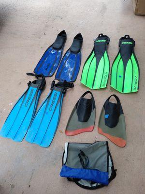 Snorkel fins for Sale in Pembroke Pines, FL