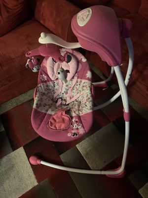 Baby swing mini mouse electric for Sale in Oregon City, OR