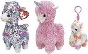 """Ty Flippable Llama Unicorn Beanie Babies with Clip Plush Stuffed Animal Toys (6"""") for Sale in Irvine, CA"""