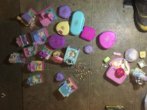 Polly Pocket Vintage Bluebird 1989 - 1995 Collection over (30) toys for Sale in Ferndale, WA