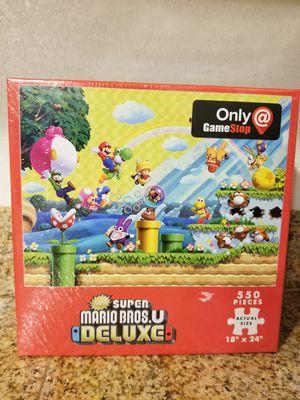 Super Mario Bros U Deluxe Gamestop Edition Puzzle for Sale in Mesa, AZ