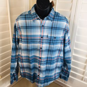 Patagonia Men's Lightweight Fjord Flannel -Turf: Breakup Blue - Medium - Brand New w/Tags $79 for Sale in Peoria, AZ