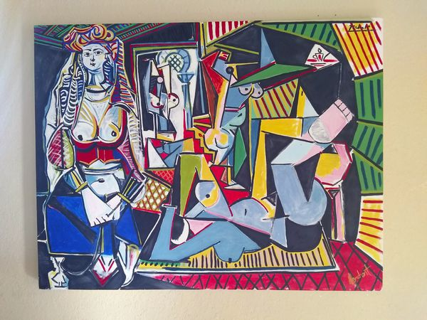 "*REPRODUCTION* Picasso Les Femmes d'Alger ""Version O"" (to Scale)"