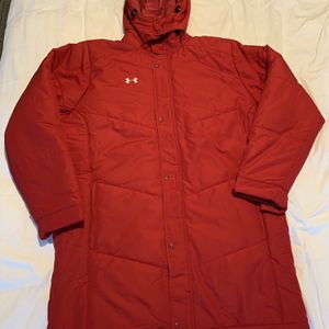 Under Armour Mens Coldgear Infrared Elevate Jacket Hooded Coat 1259104 834 NWT 3XL MSRP $199.99 for Sale in San Diego, CA