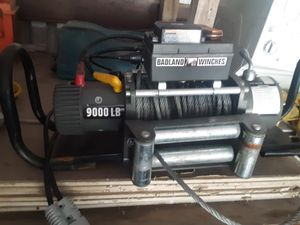 Winch for sale 9000lb for Sale in Needville, TX