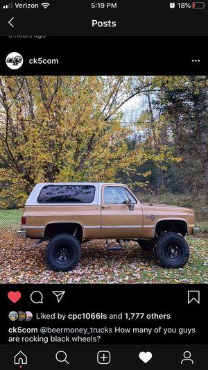 1984 Chevy k5 Blazer for Sale in Stanwood, WA
