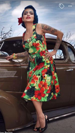 Tiki Hula Girl inspired dress by Voodoo Vixen for Sale in San Francisco, CA