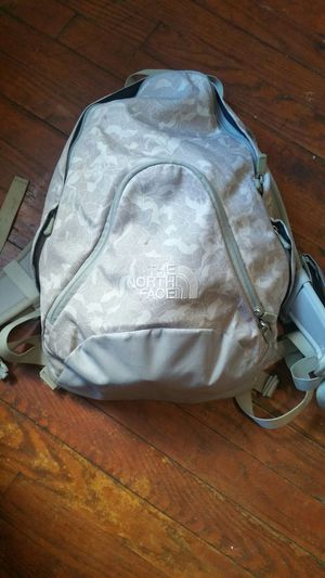 Girl north face book bag for Sale, used for sale  Wallington, NJ