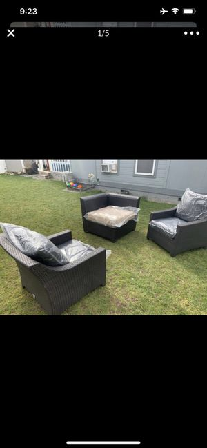 Brand new three pieces patio set delivery available for Sale in University Place, WA