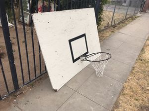 Giant basketball hoop for Sale in Fresno, CA