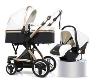 Belecoo Brand Luxury Baby Stroller 3 in 1 Travel System With Infant Seat for Sale in Shelby Charter Township, MI
