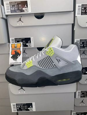 "Last Men's 7.5-14 Air Jordan Retro 4 Se ""Neon"" for Sale in Boca Raton, FL"