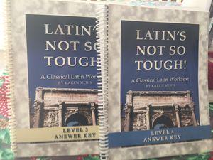 High school home school curricular books for Sale in Lakeland, FL