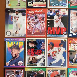Baseball Cards - Kirby Puckett for Sale in Westfield, IN