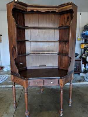 Ethan Allen corner book shelf for Sale in Hoffman Estates, IL