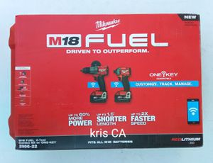 Milwaukee fuel one key drill kit for Sale in La Puente, CA