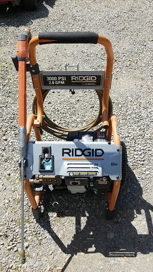 Rigid 3000 psi/2.6 gpm pressure washer for Sale in Columbus, OH