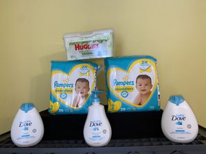 Baby Dove Pampers Bundle for Sale in Grand Prairie, TX