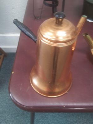 Turkish Copper coffee pot for Sale in Bellevue, OH