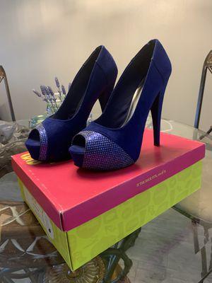 Royal blue heels for Sale in Bonita Springs, FL