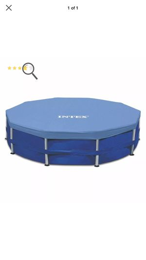 Pool cover fits 15ft above ground pools intex for Sale in South Brunswick Township, NJ