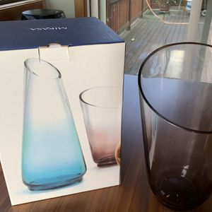 "Mikasa Flower Vase Monochrome - Smoke (10"") for Sale in Bellevue, WA"