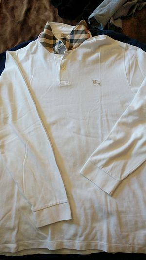 Burberry long sleeve collared shirt for Sale in Los Angeles, CA