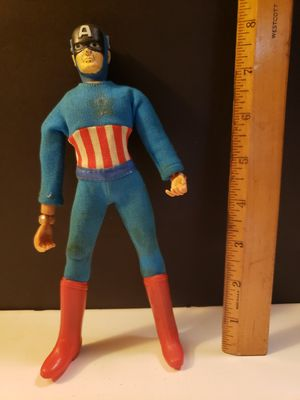 Captain America Action Figure by Mego - 1973 (Rare figure) for Sale in Reinholds, PA