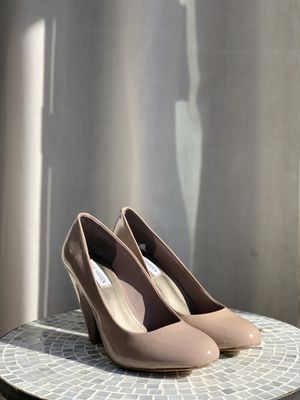 Steve Madden | Taupe Patent Heel for Sale in Hayward, CA