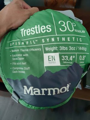 Marmot sleeping bag for Sale in Austin, TX