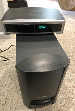 BOSE 3-2-1 Home theater DVD's new for Sale in Centreville, VA