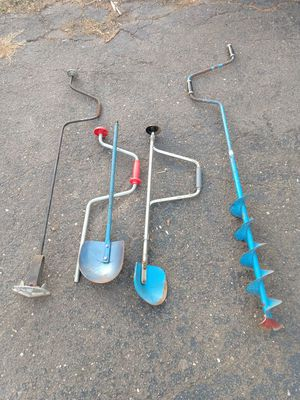 Ice fishing auger for Sale in Coventry, CT