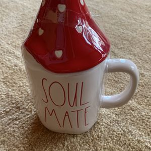 RAE DUNN SOUL MATE GNOME MUG WITH TOPPER . New for Sale in Alexandria, VA