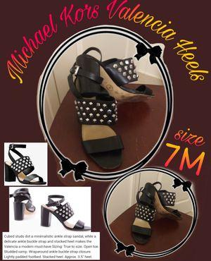 Michael Kors Black Valencia Heels size 7M for Sale in Sanger, CA