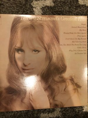 Barbra Streisand's greatest hits vinyl for Sale in King of Prussia, PA