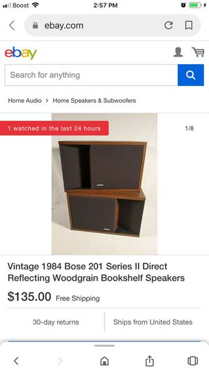 Bose 201 series 2 for Sale in Pittsburgh, PA
