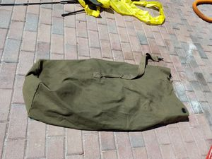 Military Seabag Duffle Bag with strap for Sale in Orlando, FL