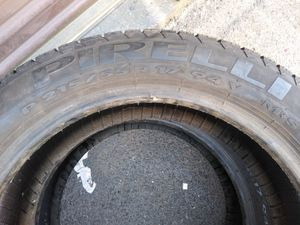 2 tires 17 pirreli for Sale in Manassas, VA